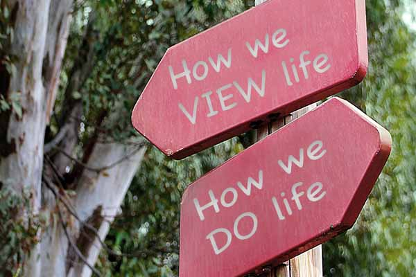 How You View Life is How You Do Life on Hope Springs Community Church.  A non-denominational church serving Severna Park, MD.