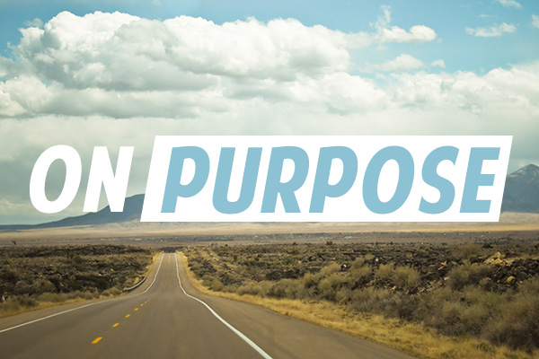 On Purpose Message Series. Hope Springs Community Church. Non-denominational. Severna park, MD.