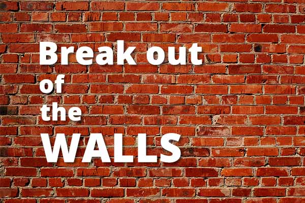 Break Out Of The Walls on Hope Springs Community Church.  A non-denominational church serving Severna Park, MD.