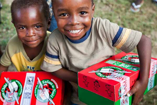 Operation Christmas Child on Hope Springs Community Church. Non-denominational. Severna Park. MD.