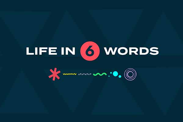 Life In 6 Words on Hope Springs Church.  A non-denominational church serving Severna Park, MD.
