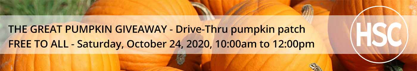 The Great Pumpkin Giveaway on Hope Springs Church