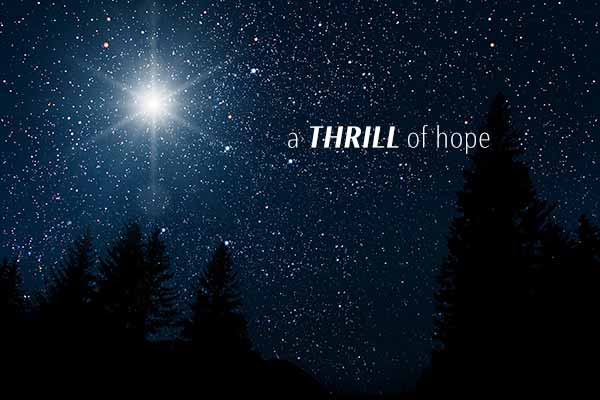 A Thrill Of Hope on Hope Springs Church.  A non-denominational church serving Severna Park, MD.
