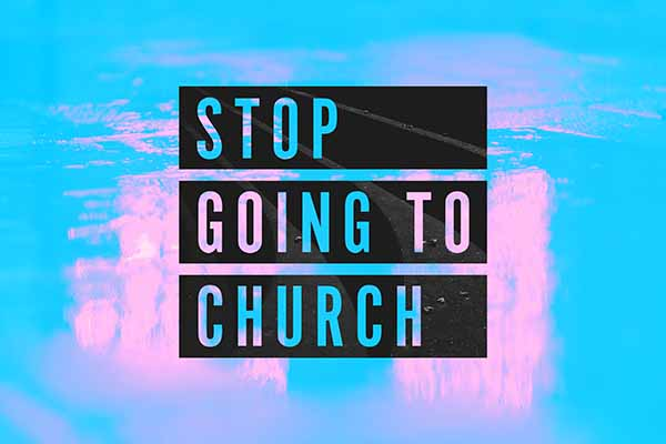 Stop Going To Church on Hope Springs Church.  A non-denominational church serving Severna Park, MD.